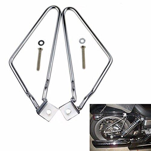 Chrom-Satteltaschen-Halterung, für Motorrad, für Harley Dyna Fat Bob Sportster 883