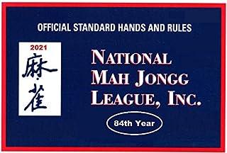 National Mah Jongg League 2021 Large Size Scorecard – Mah Jongg Card