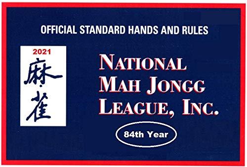 National Mah Jongg League 2021 Large Size Scorecard - Mah Jongg Card