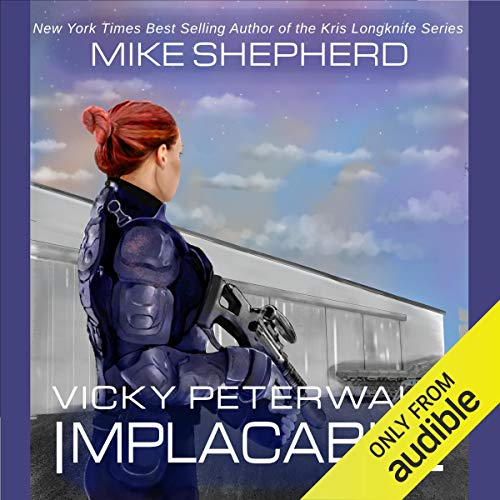 Implacable audiobook cover art