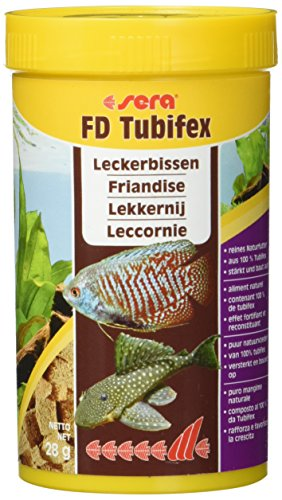 Sera Tubifex Würfel 250 ml, 1er Pack (1 x 250 ml)