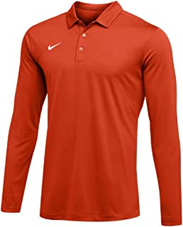 Nike Mens Dri-FIT Long Sleeve Polo Shirt