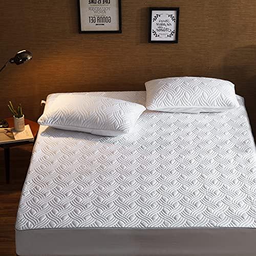 BOLO Sábanas ajustables extra profundas, sábanas de la más alta calidad, 150 x 200 cm + 15 cm