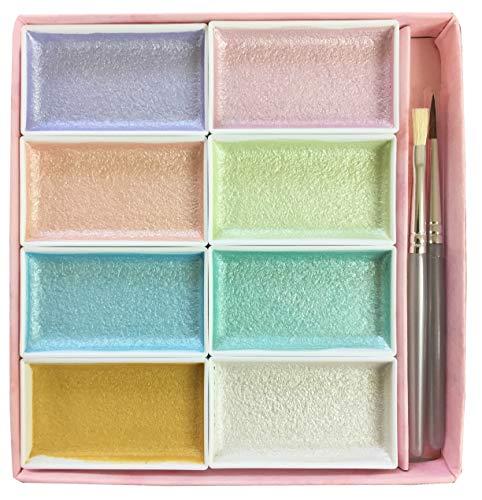 Auspicious face color pearl color 8 color set (japan import)
