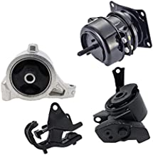 Engine Motor and Front Trans Mount Set of 4 for 2003 2004 2005 2006 Acura MDX 3.5L