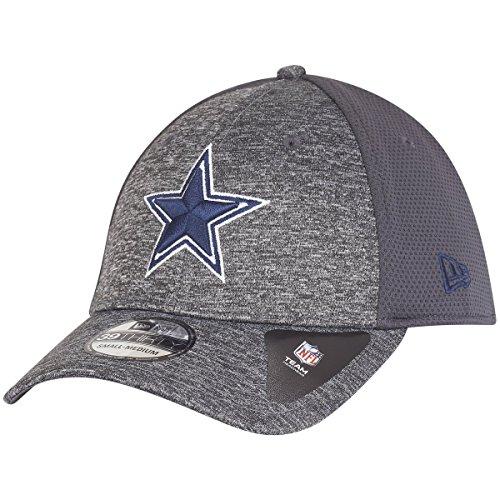 New Era 39Thirty Cap - Shadow Dallas Cowboys Graphite - M/L