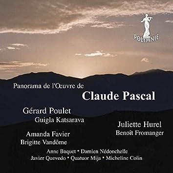 Panorama de l'œuvre de Claude Pascal
