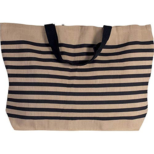 Grand sac de shopping en toile de jute en coton...