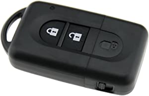 Button Remote Key Fob Case Shell For Nissan Juke Duke Navara Micra X-Trail Qas