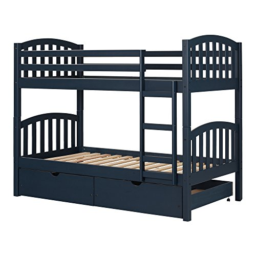 South Shore Ulysses Solid Wood Bunk Beds