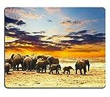 Caucho Natural para Juegos, Elefante (Mouse Pad/Gaming Mouse Pad)