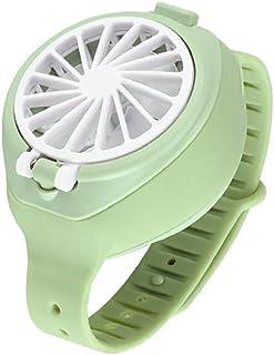 Jia Hu - Ventilador de color fresco, 3 velocidades, plegable