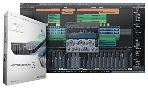 PreSonus Studio One 3 Artist Recording and Production Software (USB Media...