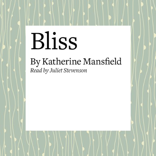 Bliss  By  cover art