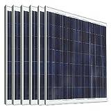 Eco de Worthy 180W 24V módulo solar fotovoltaico polykristallin panel solar Ideal para cargar 24V Pilas