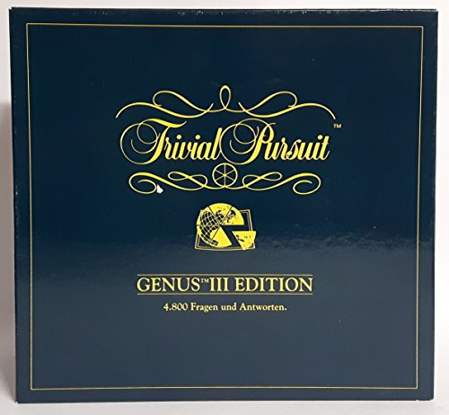 Trivial Pursuit Genus III Edition (Komplettes Spiel)