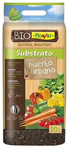 Flower 80152 80152-Substrato huerto Urbano, 20 l, No Aplica, 30x5x55 cm