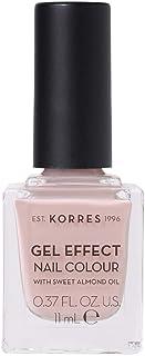 Korres Sweet Almond Oil - Esmalte de uñas con efecto gel, n.º 32 Cocos Sand, 110 g