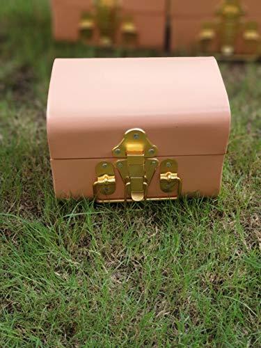 GiftingBestWishes Tronco de metal/caja decorativa/regalo del anuncio del nacimiento de la caja de regalo