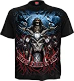 Spiral - Ride Free - Camiseta - Negro - 4XL