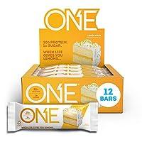 OhYeah! Nutrition One Bar Lemon Cake, 12 Count Net WT 2.12 oz Per Bar by OhYeah!