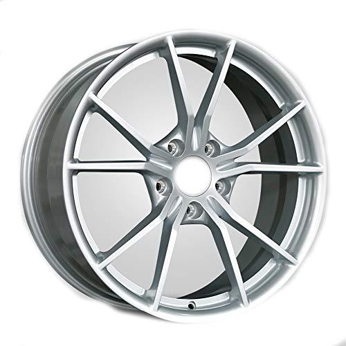 GYZD Alu Felgen 21 Zoll Durchfluss geschmiedete Radlegierung Ersatzrad Auto Rad Maschine Aluminium Felge Passend für R21 *9J Reifen Geeignet für macan 718 911 1 (Stück),D