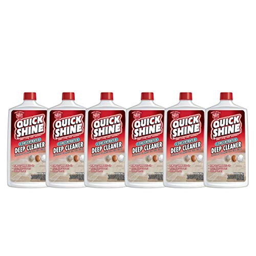 Quick Shine Concentrated Deep Cleaner, 6 Bottles, 6 Count