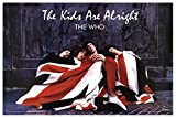 The WHO The Kids Are Alright Poster Drucken (60,96 x 91,44