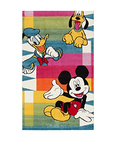 Disney Teppich Premium Mickey Pencils lila/grün/Mehrfarbig Size is not in Selection DE