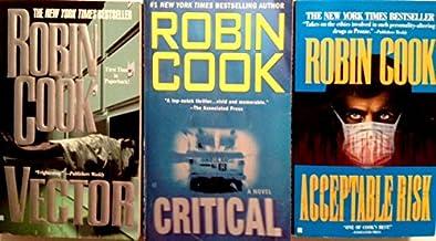 3 Robin Cook Books - (Vector, Critical, & Acceptable Risk)