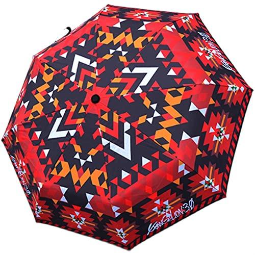 Sun & Rain NEON Genesis Evangelion Print Umbrella Cosplay Around Unisex...
