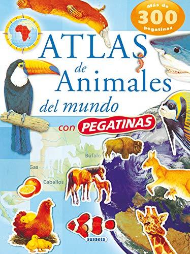 Atlas De Animales Del Mundo Pegatinas Atlas