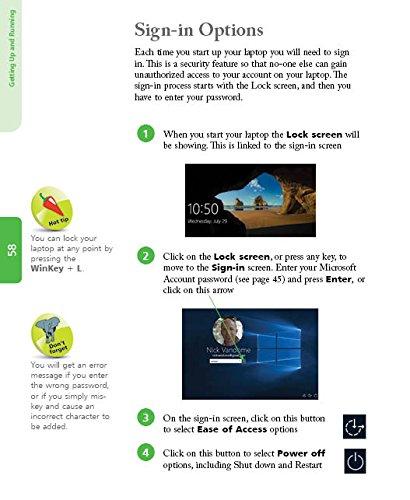 Laptops for Seniors in easy steps - Windows 10 Creators Update Edition