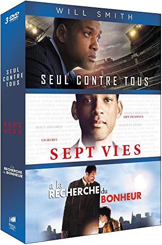 Will Smith-Coffret : Seul Contre Tous + Sept Vies + À la Recherche du Bonheur