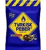 4 x bags of 150g Fazer The Original Tyrkisk Peber (Turkish Pepper) Finnish Salmiakki Salmiak Caramel Hard Candy Sweets Candies Bag