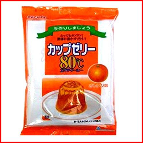 かんてんぱぱ『カップゼリー80℃ オレンジ味』