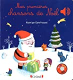 Mes premières chansons de Noël – Livre sonore avec 6 puces – Dès 1 an