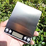 NC Báscula de Cocina, báscula de Alimentos Digital con Capacidad de Alta precisión, báscula de medición multifunción Digital -1000g / 0.1g
