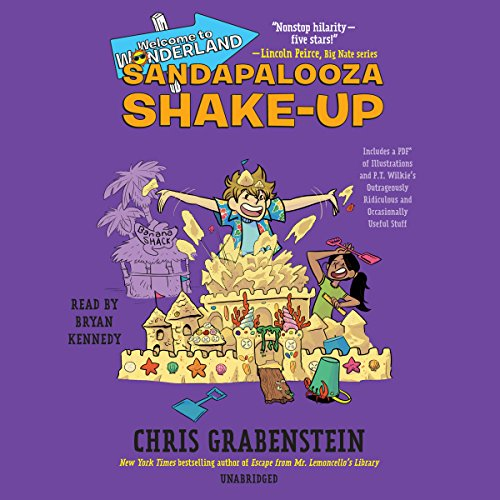 Sandapalooza Shake-Up     Welcome to Wonderland, Book 3              By:                                                                                                                                 Chris Grabenstein                               Narrated by:                                                                                                                                 Bryan Kennedy                      Length: 4 hrs and 58 mins     Not rated yet     Overall 0.0