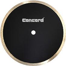 """Concord Blades CRS100G10CP 10"""" Continuous Rim Diamond Tile Blade for cutting ceramic tiles, quarry tiles, porcelain tiles,..."""