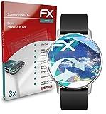 atFoliX Schutzfolie kompatibel mit Nokia Steel HR 36 mm Folie, ultraklare & Flexible FX Bildschirmschutzfolie (3X)