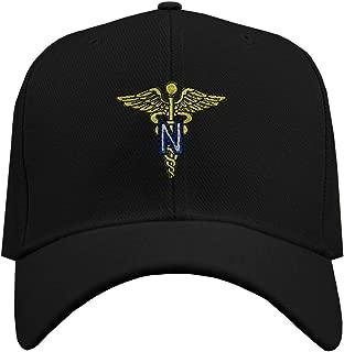 Custom Baseball Hat Army Nurse Corps Officer Embroidery Veteran Name Hook & Loop