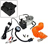 Voche 12 Volt Extra Heavy Duty Air Compressor Kit with Carry Bag & Accessories