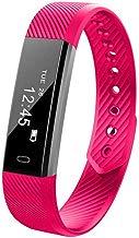 Eroihe Pulsera Actividad Mujer Hombre Impermeable Monitor de Sueño Ritmo Cardíaco Pulsera Inteligente Deportiva Smartwatch