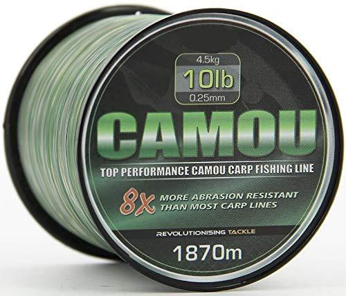 BKL1 Schnur Camouflage 0,26mm 1870 Meter Angelschnur Camo Schnur 639