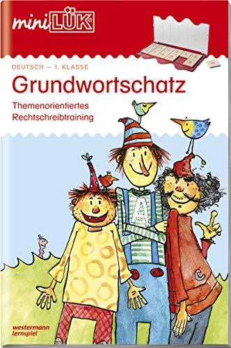 miniLÜK-Übungshefte: miniLÜK: 1. Klasse - Deutsch: Grundwortschatz: Deutsch / 1. Klasse - Deutsch: Grundwortschatz (miniLÜK-Übungshefte: Deutsch)