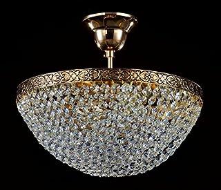 Amazon.es: lamparas cristal de bohemia: Iluminación