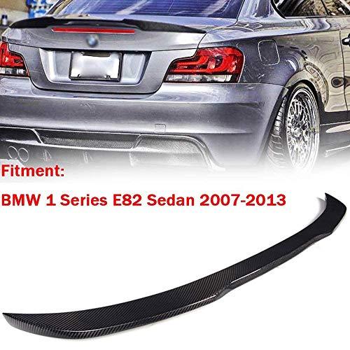 XTT Geeignet für BMW 1er E82 2007-2013 Carbon Heckspoiler, 3M Kleber und einfache Installation