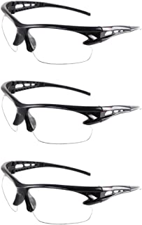YAAVAAW Safety Glasses-3 Pack Safety Protective Glasses,Safety Goggles Eyewear Eyeglasses for Eye Protection-Great Goggles...