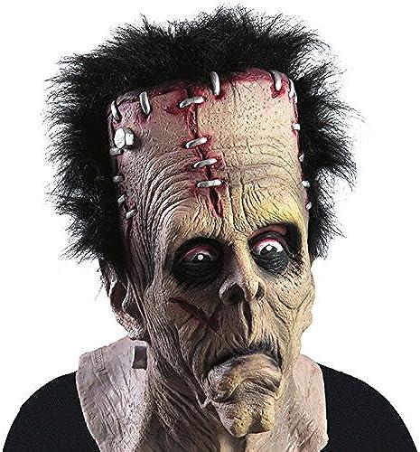 Masque Frankenstein Latex Zombie - DeguiseHommest HalFaibleeen Accessoire - 706